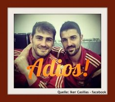 Iker Casillas_David Villa