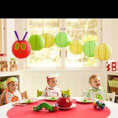 Kids party idea - love the very hungry caterpillar!