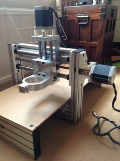 My first CNC machine.
