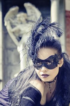 Masked - Bild & Foto von RoseBlack aus Gothic-Portraits - Fotografie (25508010)   fotocommunity