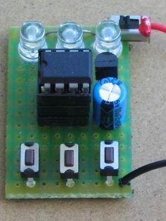 LED FX TE555-5 30 LED Projects