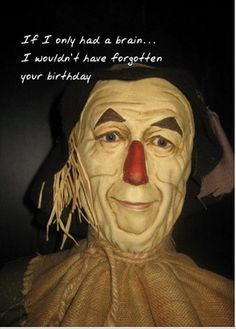 belated #birthday card. #funny too. Send this card now. Free cards ...: https://www.pinterest.com/explore/belated-birthday-funny