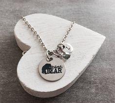 Mama Bear Gifts for Mama Mama Necklace Mama Gift Mama by SAjolie