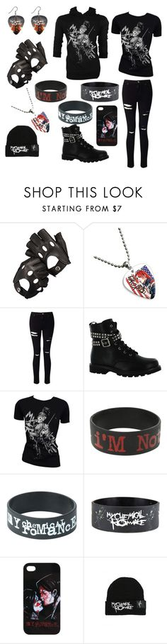 """My Chemical Romance"" by books4life448 ❤ liked on Polyvore featuring Aspinal of London, Miss Selfridge, Gotta Flurt, Retrò and Hot Topic"