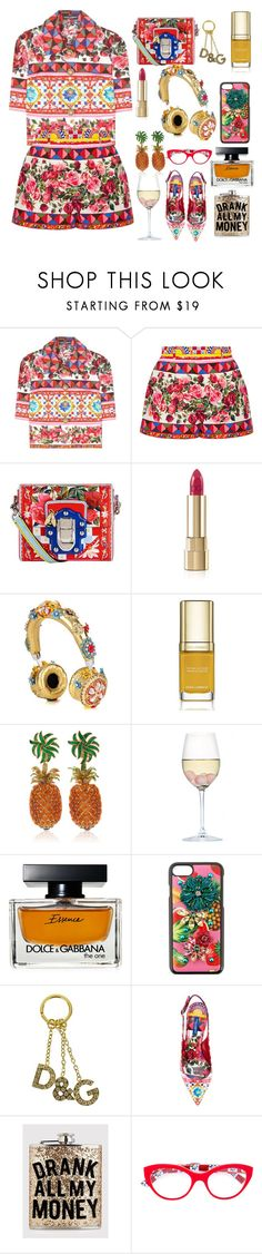 """""""only Dolce & Gabbana style"""" by lianafourmouzi ❤ liked on Polyvore featuring Dolce&Gabbana and RabLabs"""
