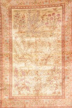 Silk Qum (Signed),, Silk Qum (Signed), Persia, circa 15 years old, pure silk, approx. 150 x 100 cm