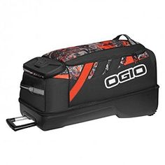 Ogio Adrenaline Wheeled Gear Bag - Rock N Roll Pattern Luggage Brands, Luggage Store, Luggage Sets, Travel Luggage, Travel Bag, Enduro Motorcycle, Best Deals Online, Mossy Oak, Wet And Dry