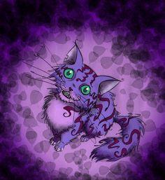 Cheshire Cat Art   cheshire cat by somethingfeline digital art drawings paintings animals ...