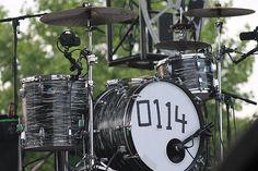 Matts drum set