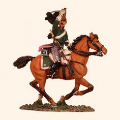 Del Prado 006 Trooper French 16th Dragoons 1814 Painted