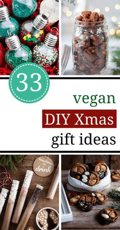 117a714c01f 33 Brilliant DIY edible Christmas Gift Ideas (vegan friendly