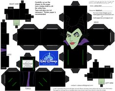 Dis16: Maleficent Cubee by TheFlyingDachshund.deviantart.com on @deviantART