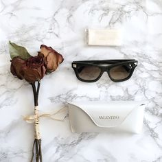 🎯HP🎯Valentino Rockstud Sunglasses 💯Authentic Valentino Brand New Rockstud Sunglasses🌿 v656s 308 140 Dark Olive Frame, Brown lenses. Comes with original case and cleaning cloth. New Without Tag. Measurement: 53mm lens width, 18mm bridge width, 140mm temple length. 100% UV protection. Made in Italy.🇮🇹  ✗No paypal, No trade ✗I don't sell on any other site ✔I do accept reasonable offers ✔️Items will be shipped within 1-2 business days 💝Bundle 2+ items to get 10% off! Valentino Accessories…