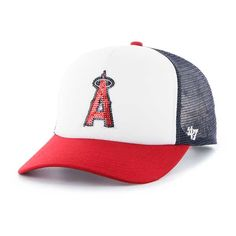 new style 11108 65b52 Los Angeles Angels Women s 47 Brand Navy Glimmer Captain Adjustable Hat  Twin Brothers, Team Gear