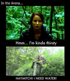 Lol, oh, Katniss...why did you never think to do this?