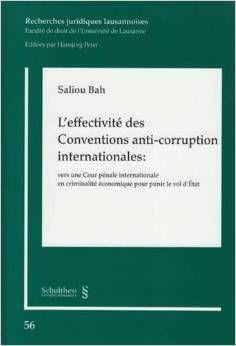 L'effectivité des Conventions anti-corruption internationales