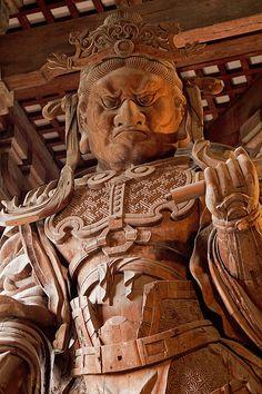 Kōmoku-ten, Guardian King of the West, Tōdai-ji #japan #nara
