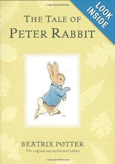 'The Tale of Peter Rabbit' by Beatrix Potter  *Children's Book *Fiction *Teaching Lessons *10/10