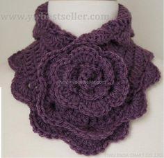 crochet scarf free pattern | Hand Crochet Scarves Crochet Guild Crochet Scarves For Kids Patterns