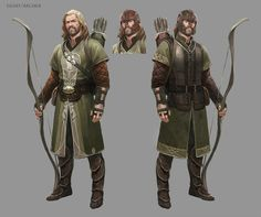 Wes Burt - MMO Lord of the Rings Concept Art