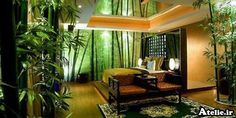 bamboo bedroom - for the master bedroom...this is a bit over the top though.