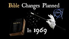 Bible Changes Planned In 1969