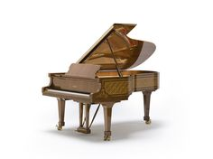 The Grandeur Fazioli and Blüthner from @the_grandpianos as the luxury piano of the world.