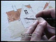 """The Magic of Watercolour"" James Fletcher-Watson. Lovely video."