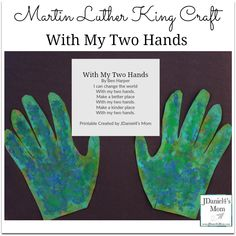 Martin Luther King Craft - With My Two Hands