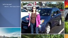 Dear Marcie Lustgarten   A heartfelt thank you for the purchase of your new Subaru from all of us at Premier Subaru.   We're proud to have you as part of the Subaru Family.