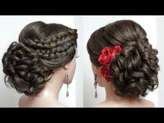 easy hairstyles back to school - Frauen Haar Modelle Prom Hairstyles For Short Hair, Braided Hairstyles Updo, Wedding Hairstyles, Cool Hairstyles, Updo Hairstyle, Bridal Hairstyle, Wedding Updo, Bridal Updo, Beautiful Hairstyles
