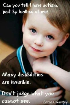 many disabilities are invisible