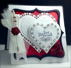 IC373, Just Married by Cards_By_America - Cards and Paper Crafts at Splitcoaststampers