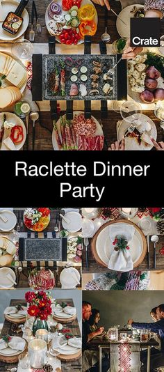 The holidays are about spending time with the people you love, so why not host a party that will keep you at the dinner table instead of in the kitchen. We've partnered with @lu_madeline to show you how to host a raclette party.
