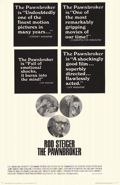 The Pawnbroker (1964) Country: United States. Director: Sidney Lumet