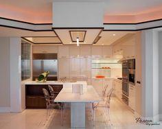 Очень красивый интерьер кухни в современном стиле