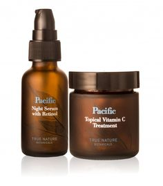 """""""The Pacific Vitamin C Treatment and Pacific Night Serum with Retinol are two NMDL not-so-secret weapons in our quest for great skin."""" #TrueNatureLife"""