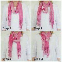 Como acomodarse bufandas y mascadas