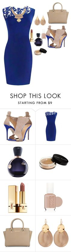 """Untitled #117"" by anaflores7822 ❤ liked on Polyvore featuring Giuseppe Zanotti, Lacoste, Bobbi Brown Cosmetics, Yves Saint Laurent, Essie, Michael Kors and Alexis Bittar"