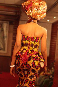 afrikanattire:  amenantanoh:  Designer: Tim Création  The corset top is so dope, ugh!