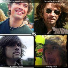 @hansonmusic Which look of Zac do you prefer?
