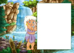 Cute Child Transparent PNG Frame