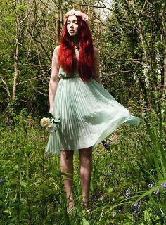 Spearmint fairytale. (by Megan McMinn) http://lookbook.nu/look/3445073-Spearmint-fairytale