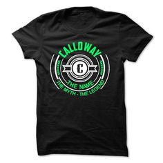 awesome Calloway the myth the legend Check more at http://9tshirt.net/calloway-the-myth-the-legend-2/