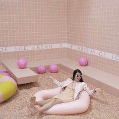 The Most Instagrammable Spots from LA's Museum of Ice Cream