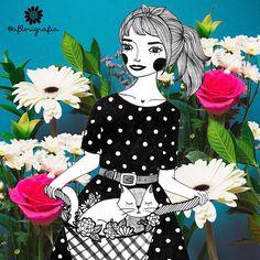 A Primavera chegou e nós voltamos!!  | Código para impressão: 0072 ✨para saber informações, envie email para aflorigrafia@gmail.com  #aflorigrafia #florigrafias #achadosdasemana #maisflorporfavor