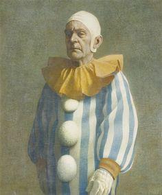Robert Vickrey, STANDING CLOWN