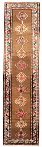 Serab runner  Northwest Persia,  circa 1910  size approximately 3ft. 5in. x 13ft. 8in.