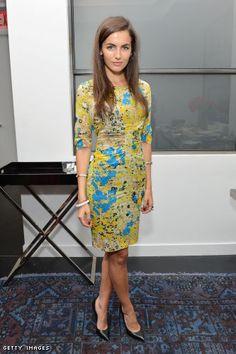 Outfit Identifier: Camilla Belle's Dress and Heels at the 2012 Tribeca Film Festival: Women's Filmmaker Brunch