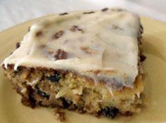 Preacher Cake! Sweet, nutty and delightfully moist...yum!